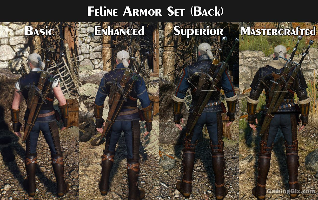 Weapons-and-Armours-Feline-Set