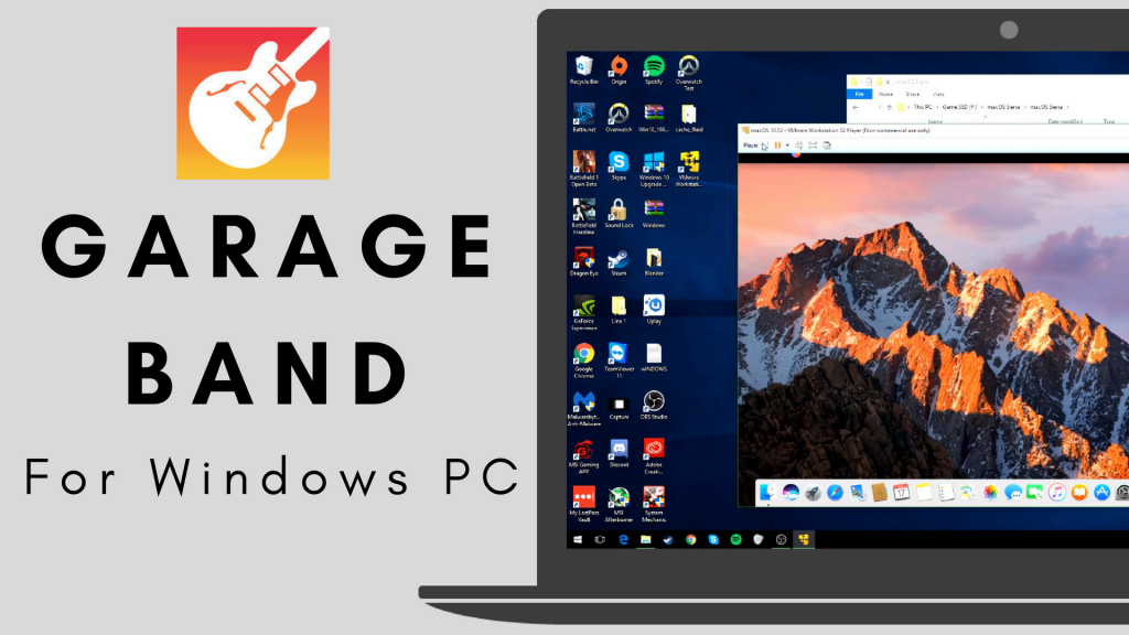 GarageBand for PC- Download GarageBand for Windows [Latest Version]