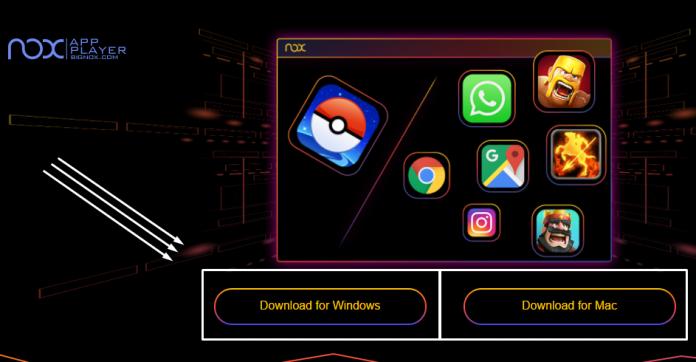 pokemon go pc nox