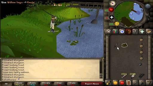 OSRS-fishing