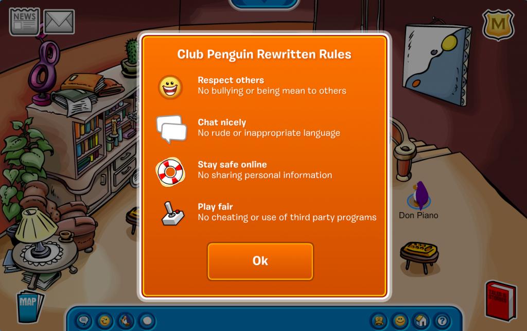 Club Penguin Rewritten Rules