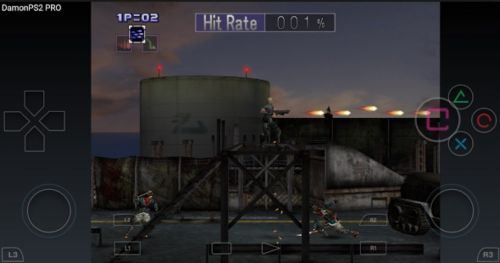 DamonPS2 PRO Interface