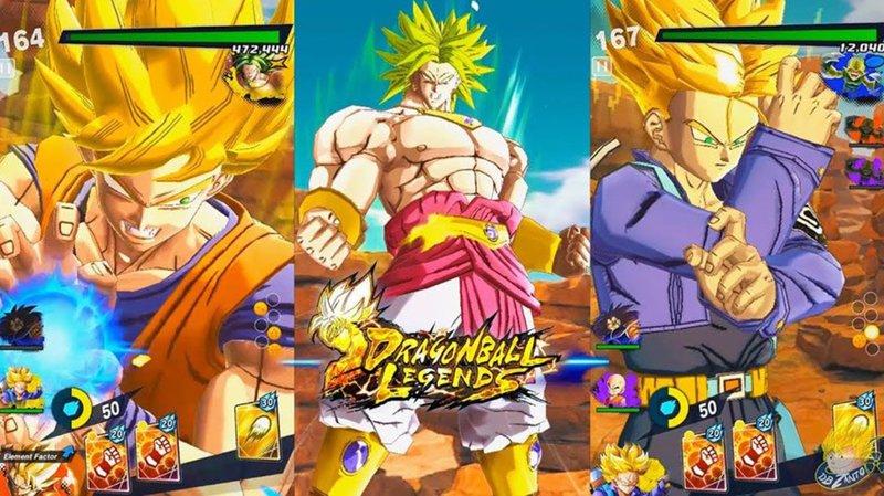Dragon Ball Legends Equipment