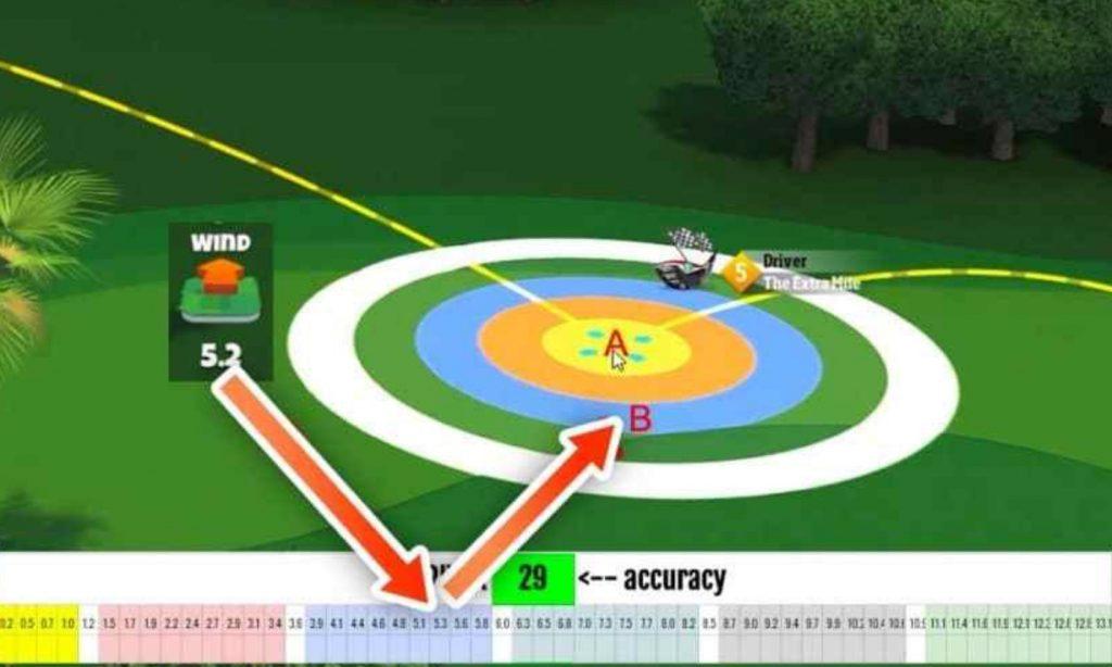 Golf Clash APK Wind Chart