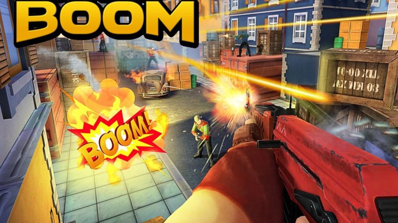 Guns of Boom MOD APK - Features