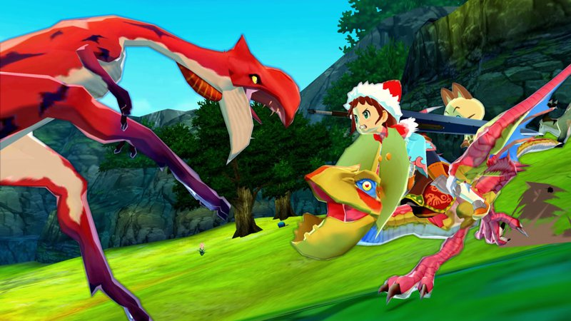 Monster Hunter Stories Gameplay