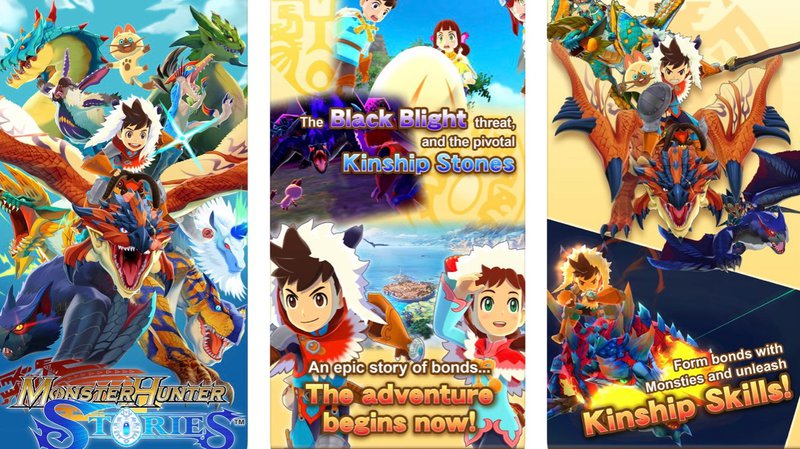 Monster Hunter Stories Scenes