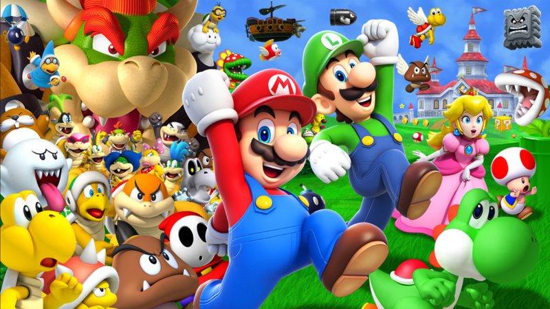 Super Mario Run - Wallpaper