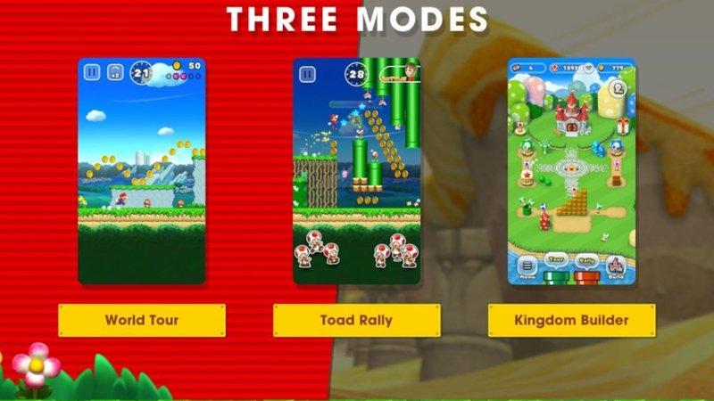 Super Mario Run - Game Modes