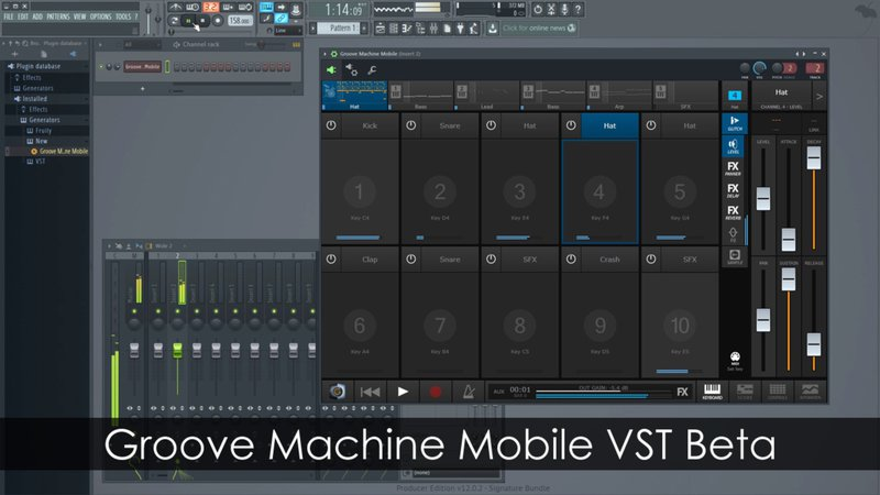 Groove Machine Mobile VST Beta