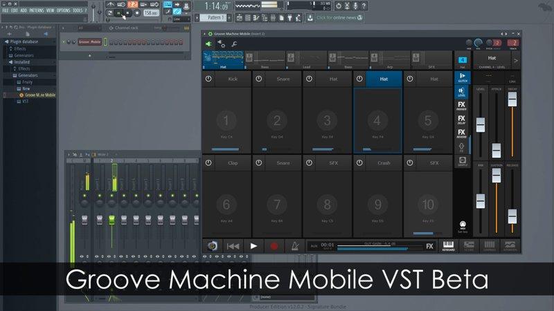 Groove Machine Mobile VST Beta