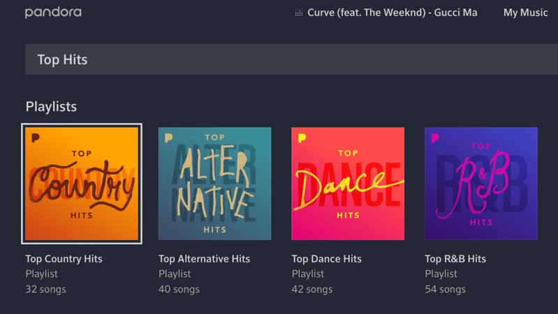 Pandora Playlists