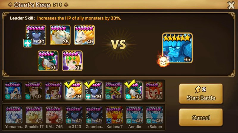 Summoners War Strategy