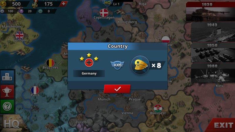 World Conqueror 4 - Country Mode