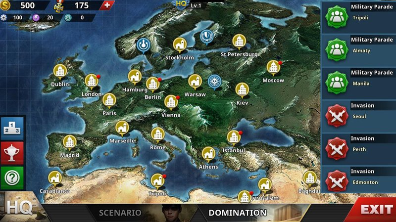 World Conqueror 4 - Domination Mode