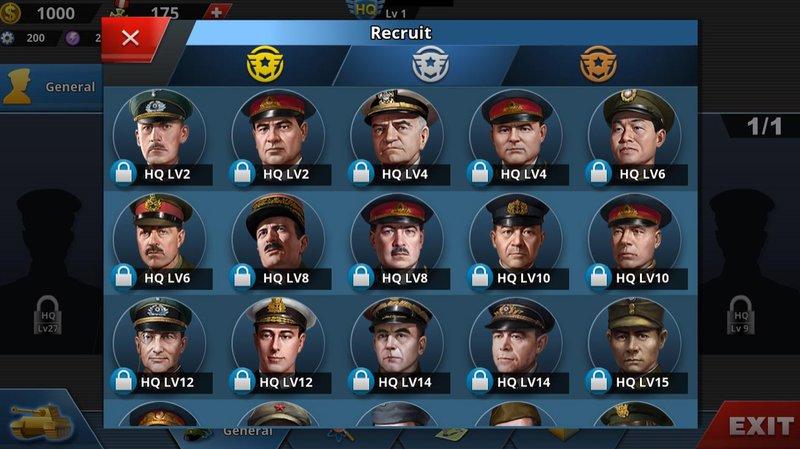 WC4- Generals