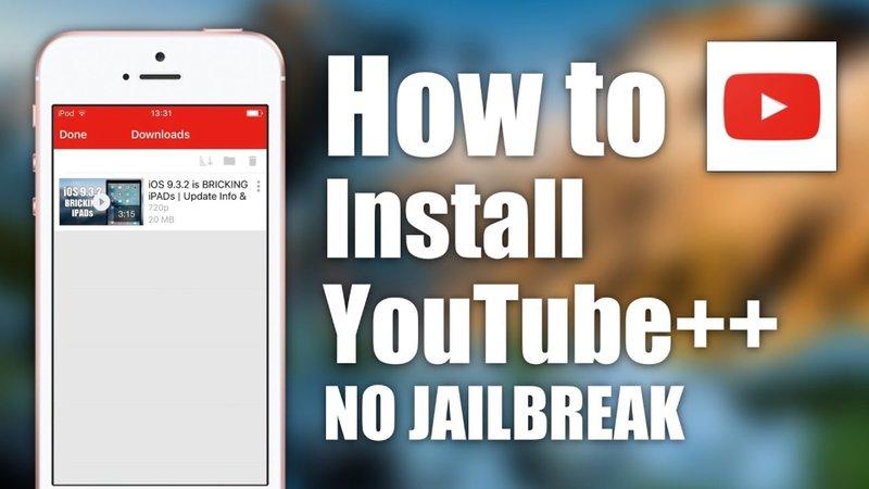installation with no Jailbreak